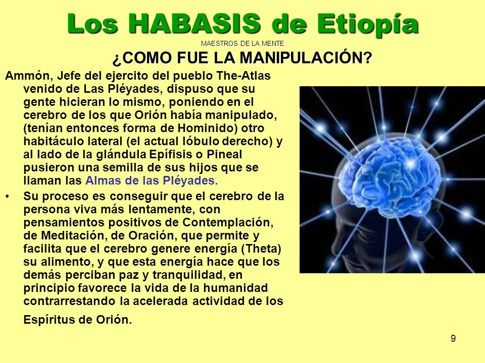 Los HABASIS de Etiopía MAESTROS DE LA MENTE ¿COMO FUE LA MANIPULACIÓN