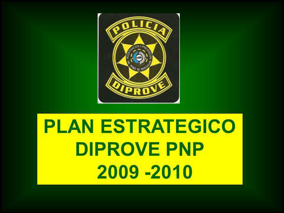 PLAN ESTRATEGICO DIPROVE PNP