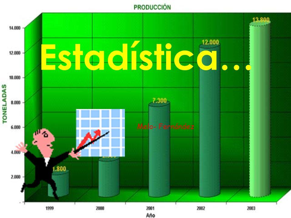 Estadística… Melo- Fernández