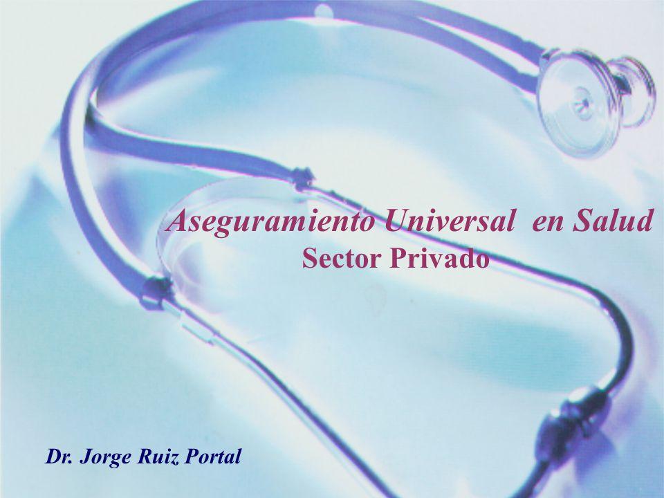 Aseguramiento Universal en Salud