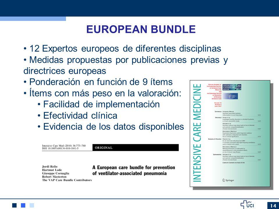 EUROPEAN BUNDLE 12 Expertos europeos de diferentes disciplinas
