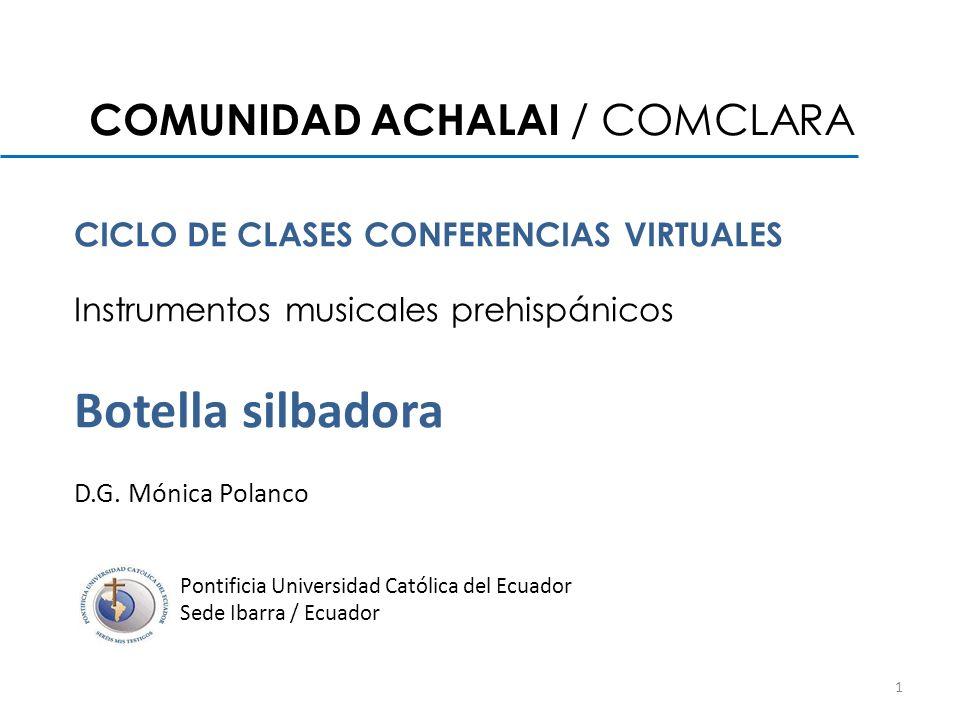 COMUNIDAD ACHALAI / COMCLARA