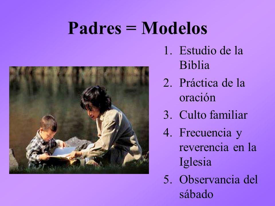 Padres = Modelos Estudio de la Biblia Práctica de la oración