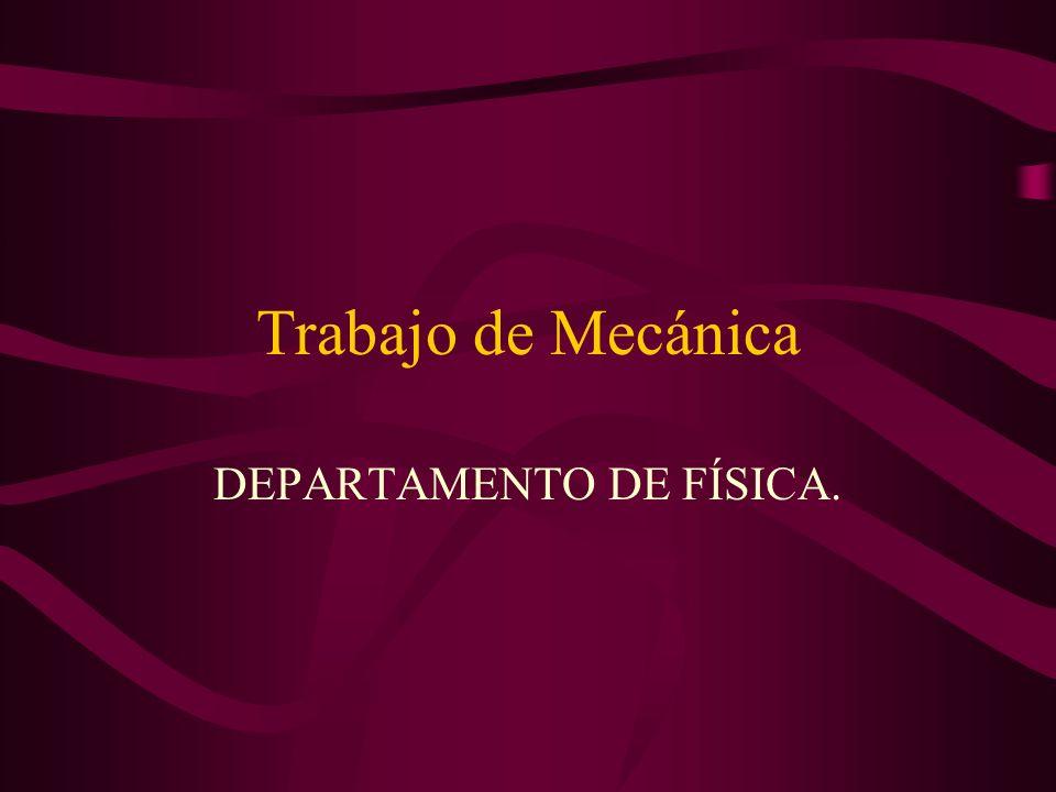 DEPARTAMENTO DE FÍSICA.