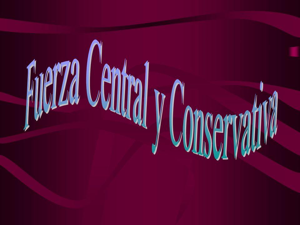 Fuerza Central y Conservativa
