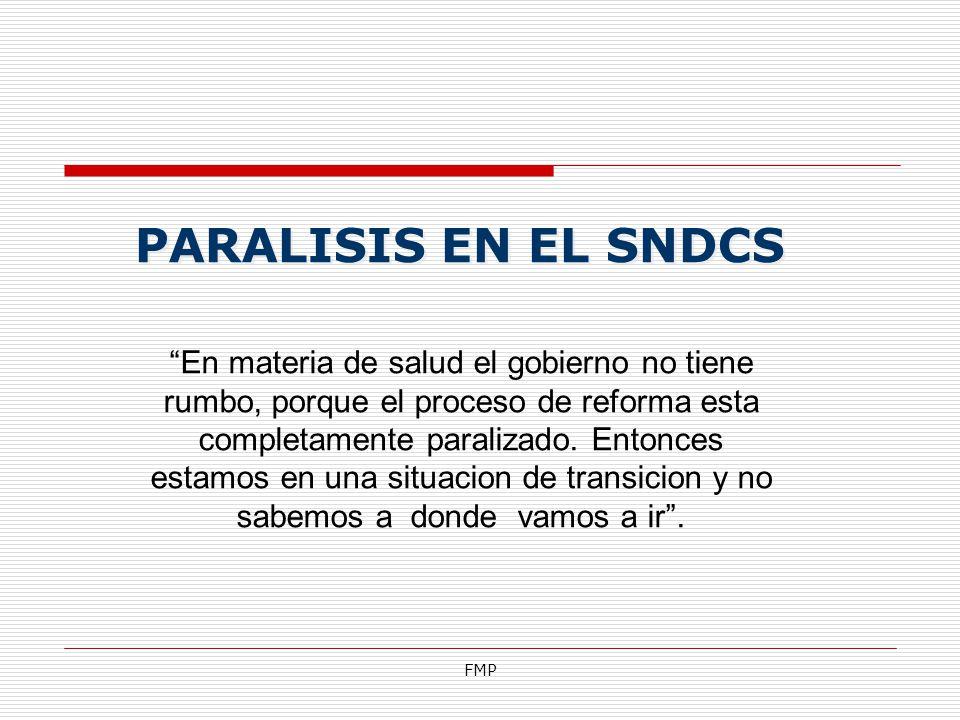 PARALISIS EN EL SNDCS