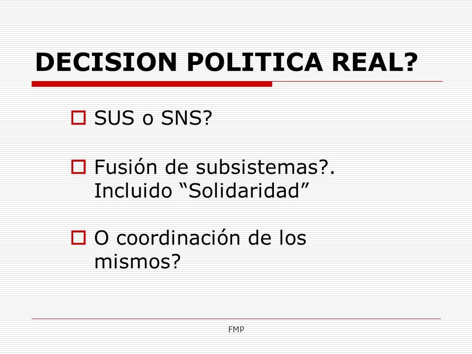 DECISION POLITICA REAL
