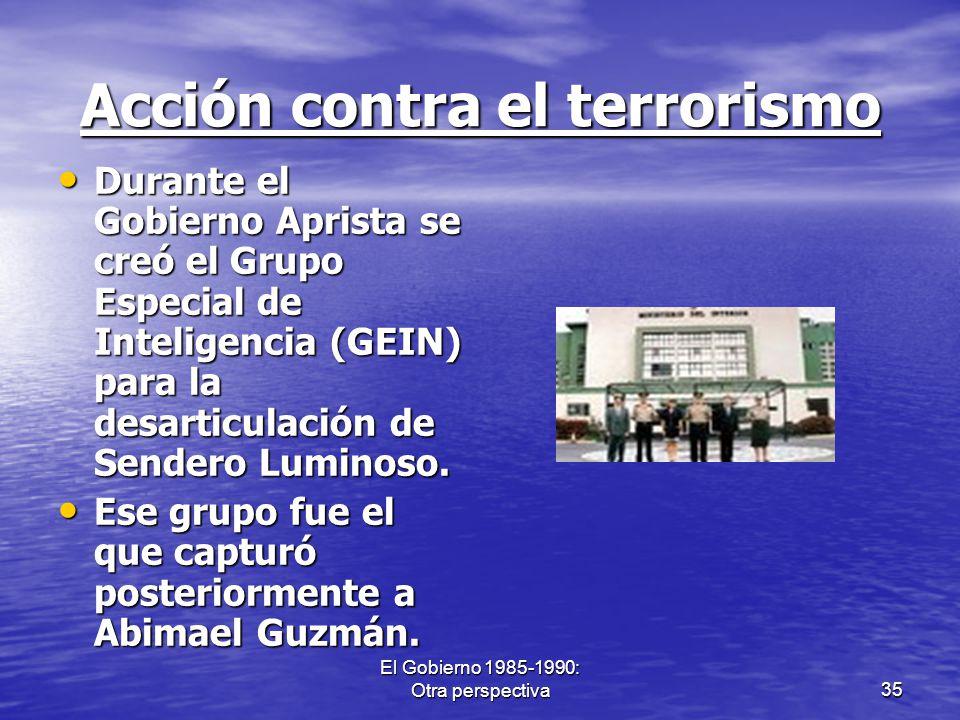 Acción contra el terrorismo