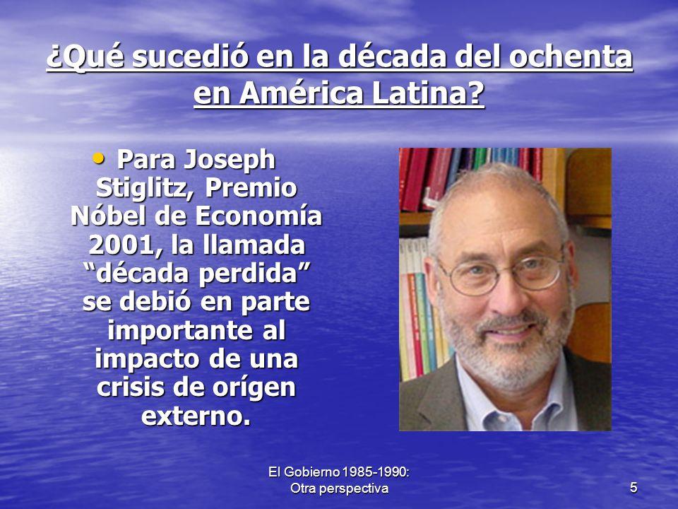 ¿Qué sucedió en la década del ochenta en América Latina