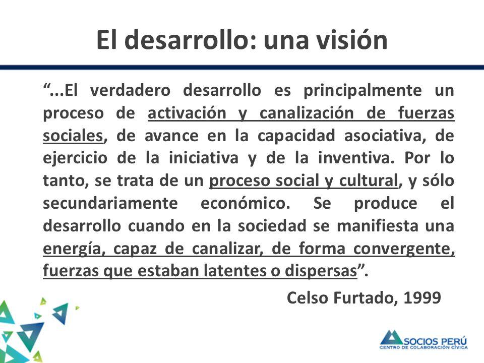 El desarrollo: una visión