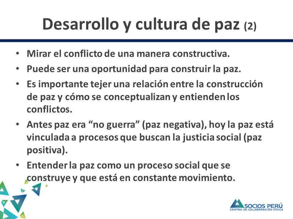 Desarrollo y cultura de paz (2)