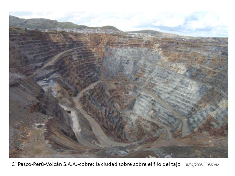 C° Pasco-Perú-Volcán S. A. A