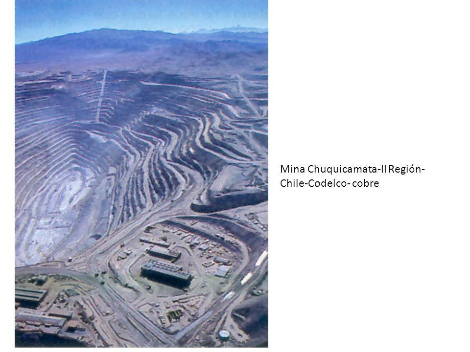 Mina Chuquicamata-II Región-Chile-Codelco- cobre
