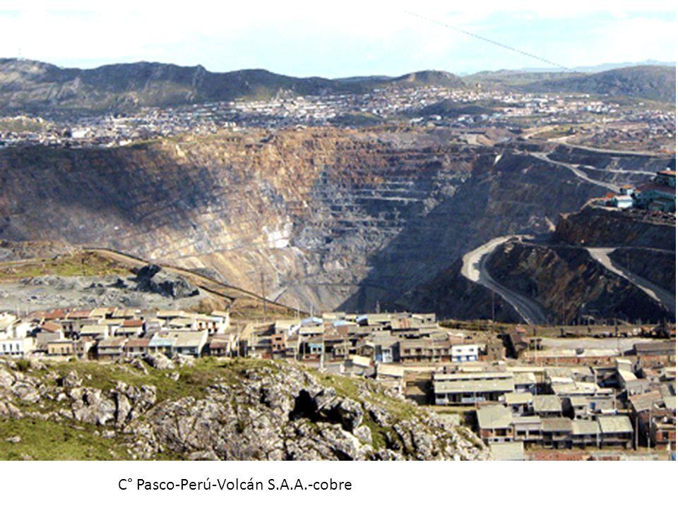 C° Pasco-Perú-Volcán S.A.A.-cobre