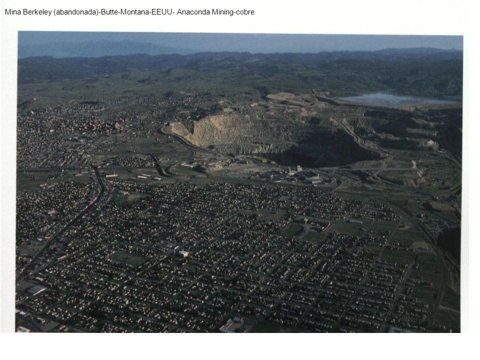 Mina Berkeley (abandonada)-Butte-Montana-EEUU- Anaconda Mining-cobre