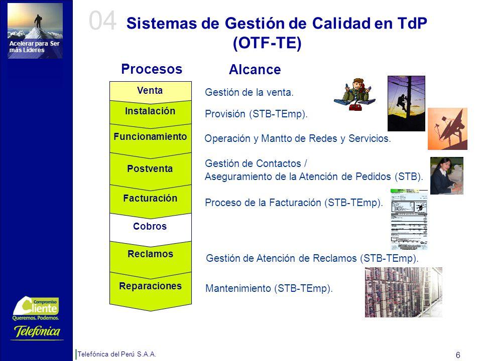 Beneficios Obtenidos en TdP:
