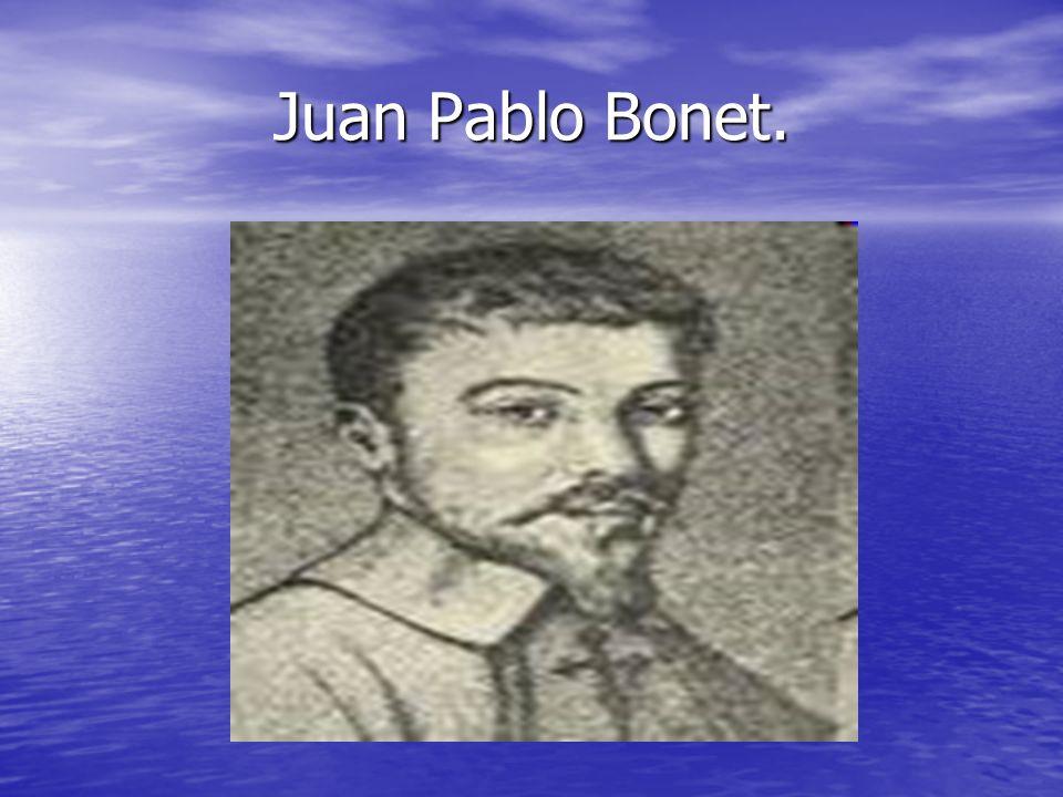 Juan Pablo Bonet.