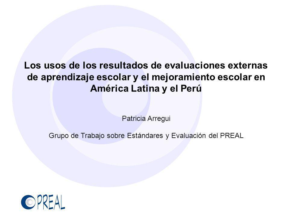 Grupo de Trabajo sobre Estándares y Evaluación del PREAL
