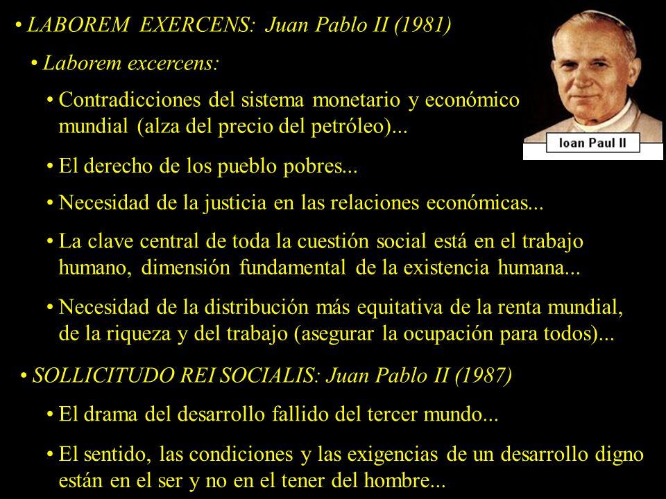 LABOREM EXERCENS: Juan Pablo II (1981)
