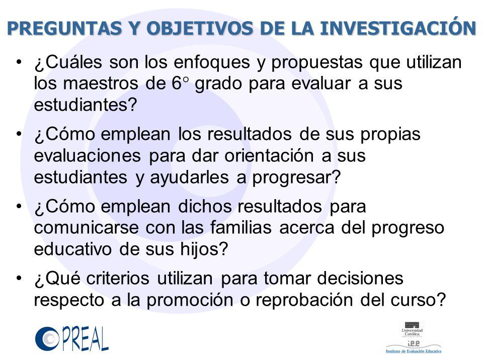 PREGUNTAS Y OBJETIVOS DE LA INVESTIGACIÓN