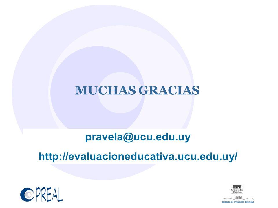 MUCHAS GRACIAS pravela@ucu.edu.uy