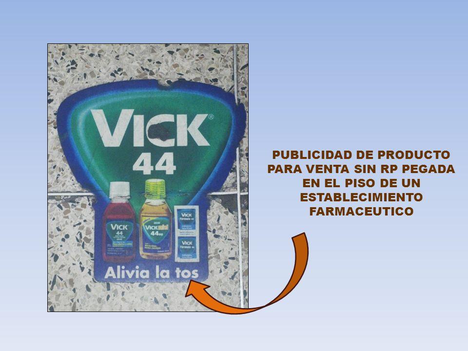 PUBLICIDAD DE PRODUCTO