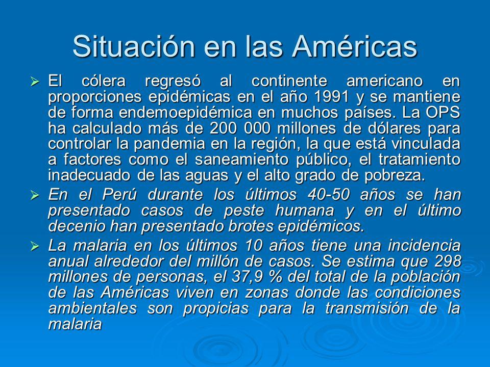 Situación en las Américas