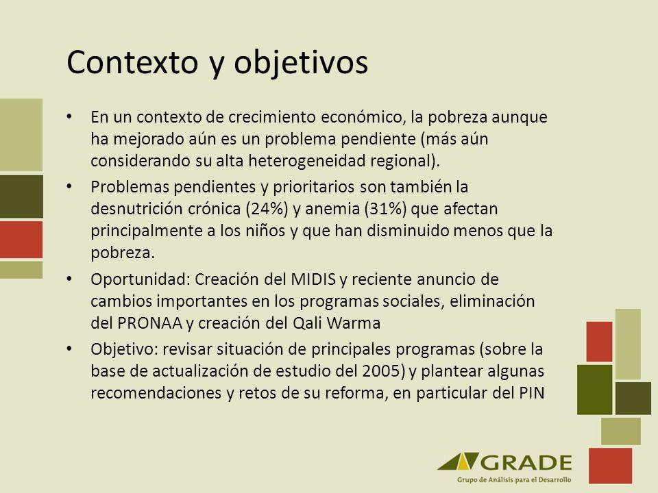 Contexto y objetivos