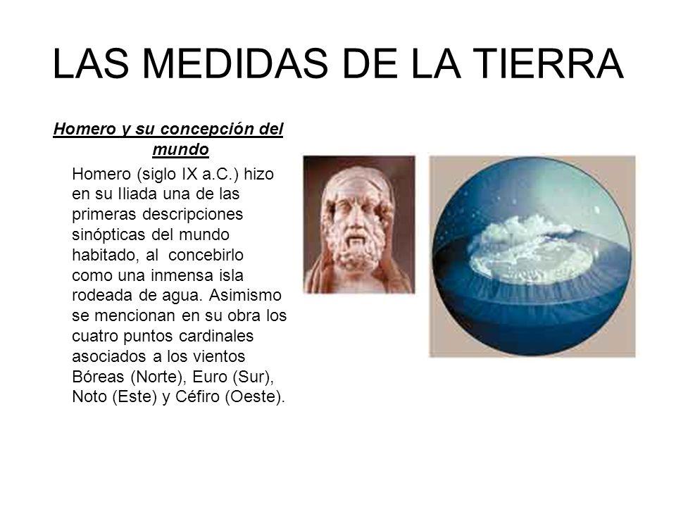 LAS MEDIDAS DE LA TIERRA
