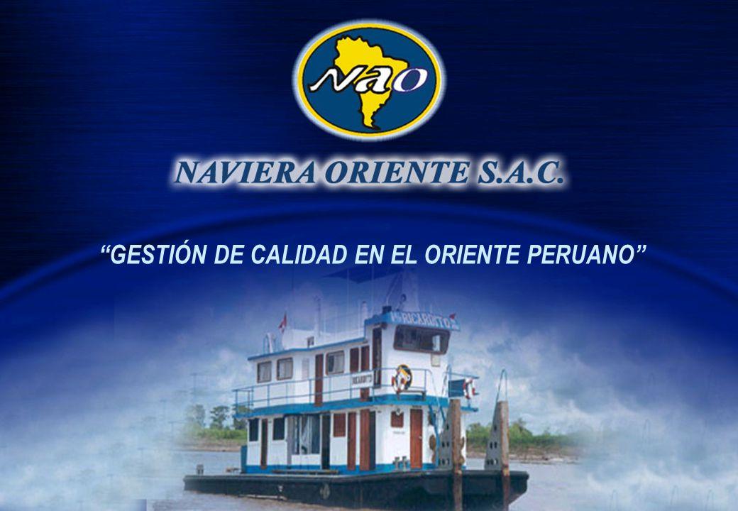 GESTIÓN DE CALIDAD EN EL ORIENTE PERUANO