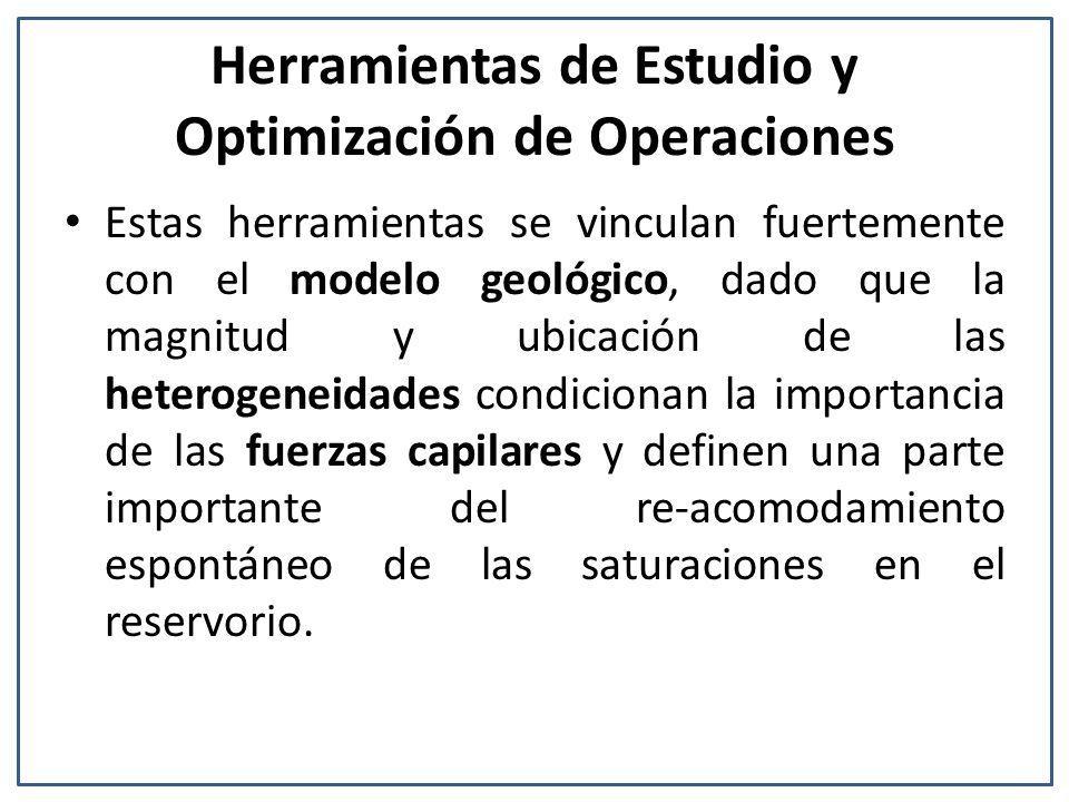 Herramientas de Estudio y Optimización de Operaciones