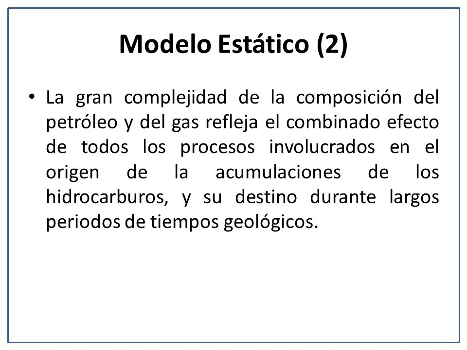 Modelo Estático (2)