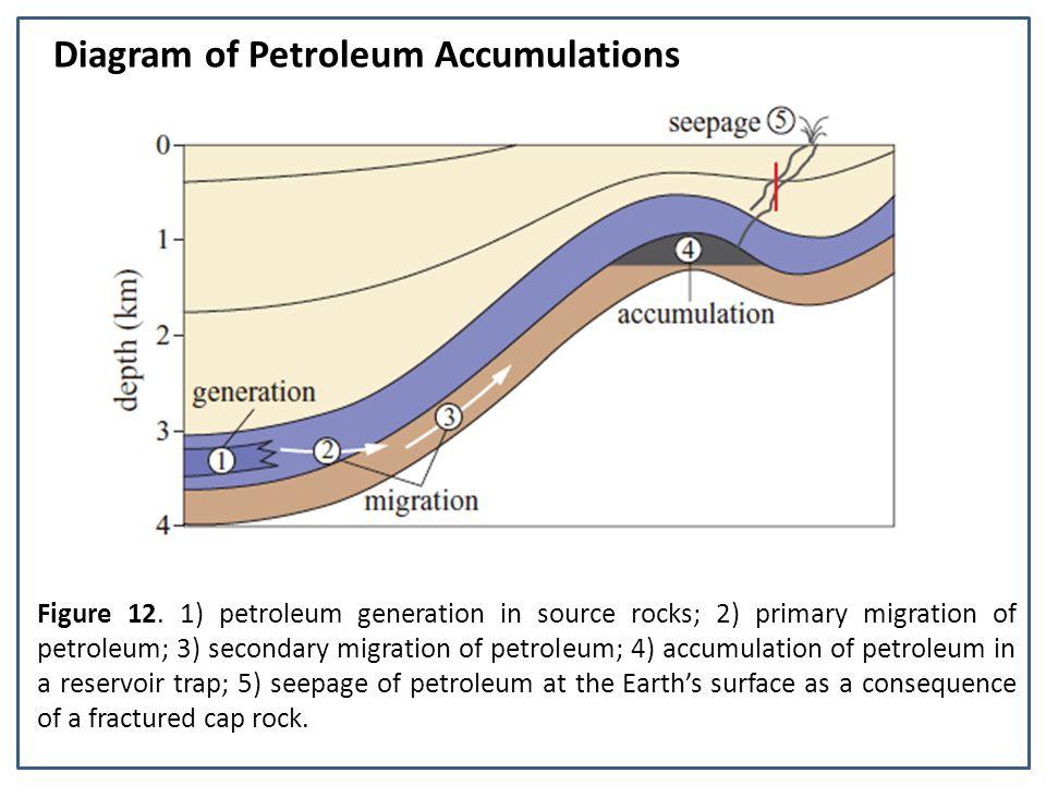 Diagram of Petroleum Accumulations