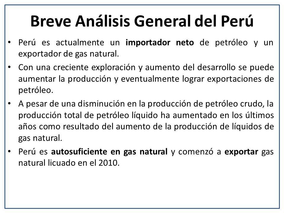 Breve Análisis General del Perú
