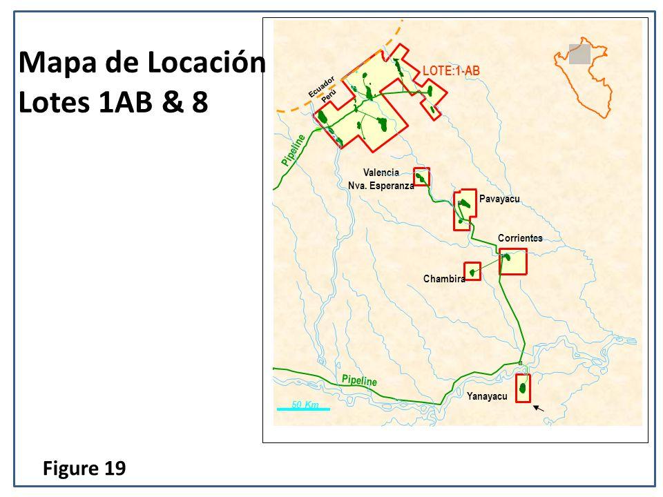 Mapa de Locación Lotes 1AB & 8