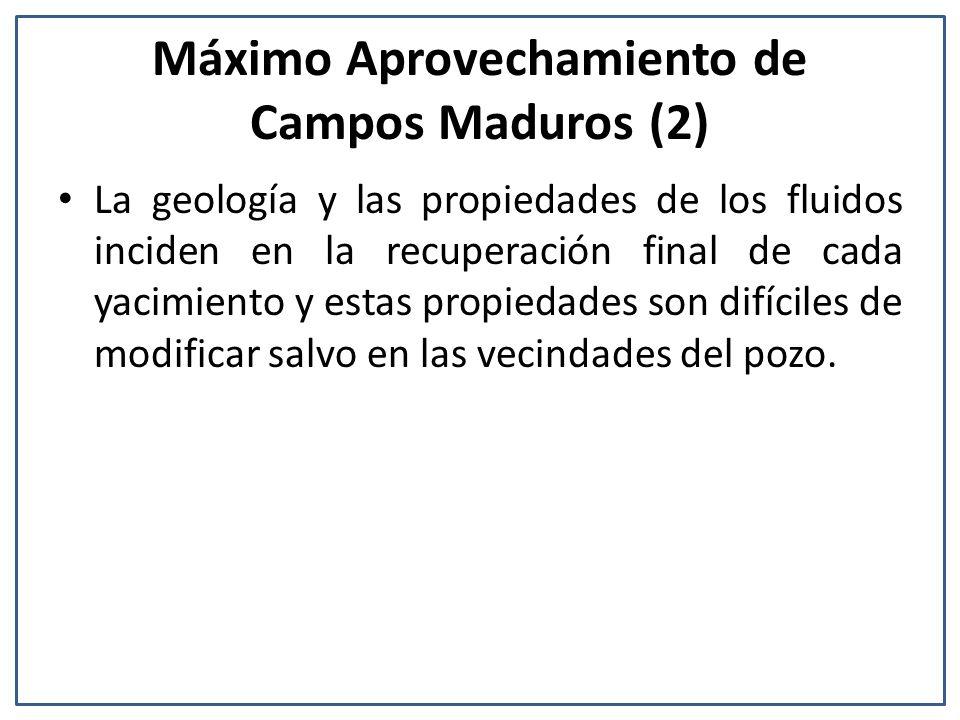 Máximo Aprovechamiento de Campos Maduros (2)