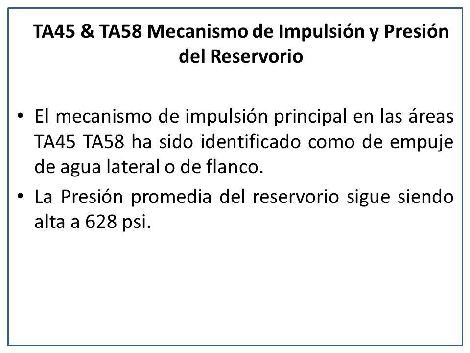 TA45 & TA58 Mecanismo de Impulsión y Presión del Reservorio