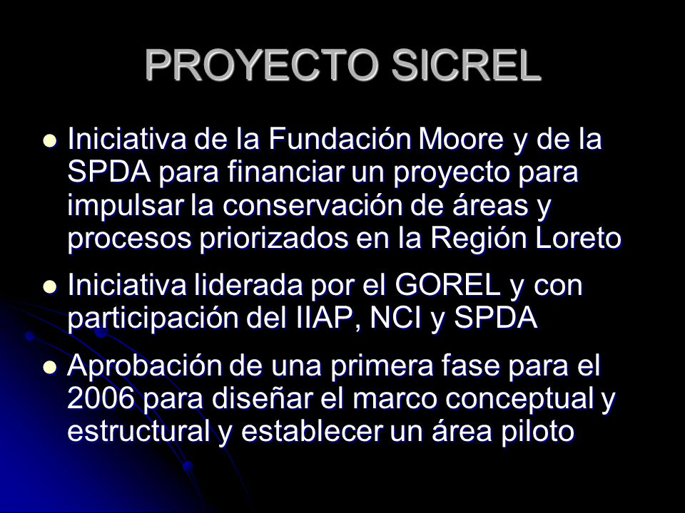 PROYECTO SICREL