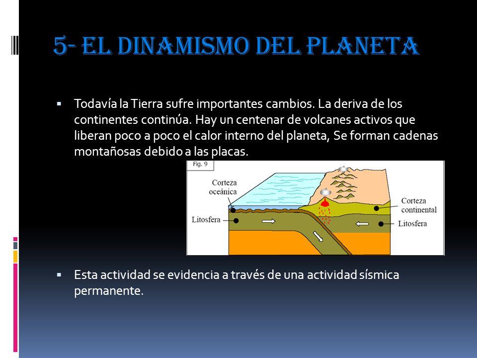5- EL DINAMISMO DEL PLANETA