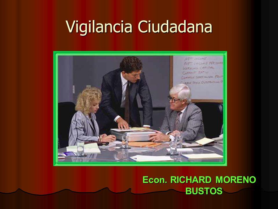 Econ. RICHARD MORENO BUSTOS