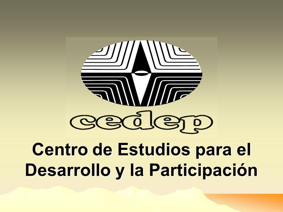Centro de Estudios para el Desarrollo y la Participación