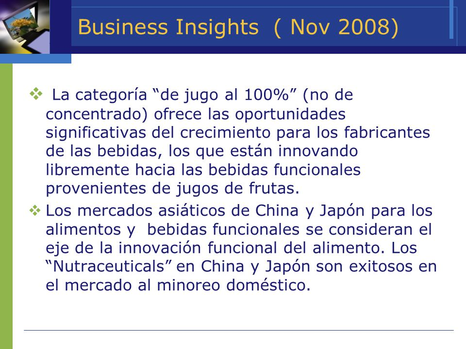 Business Insights ( Nov 2008)