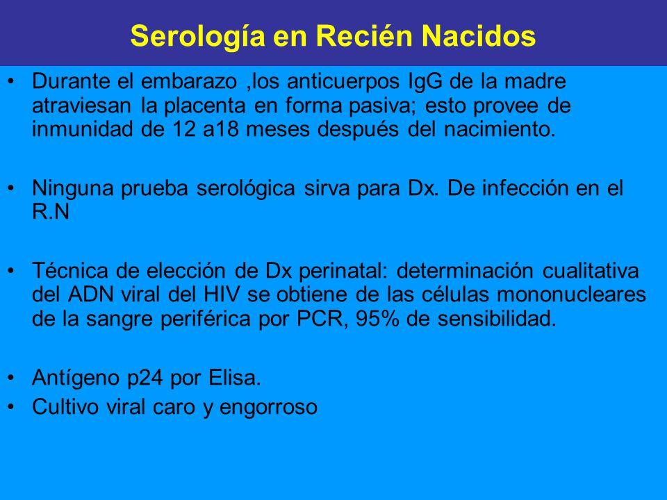 Serología en Recién Nacidos