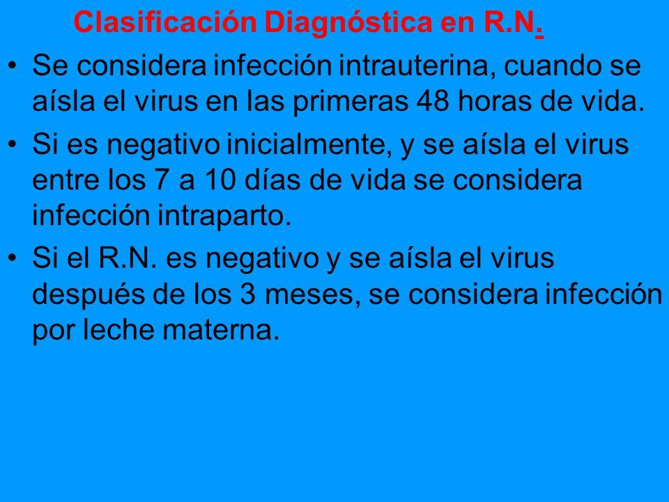 Clasificación Diagnóstica en R.N.