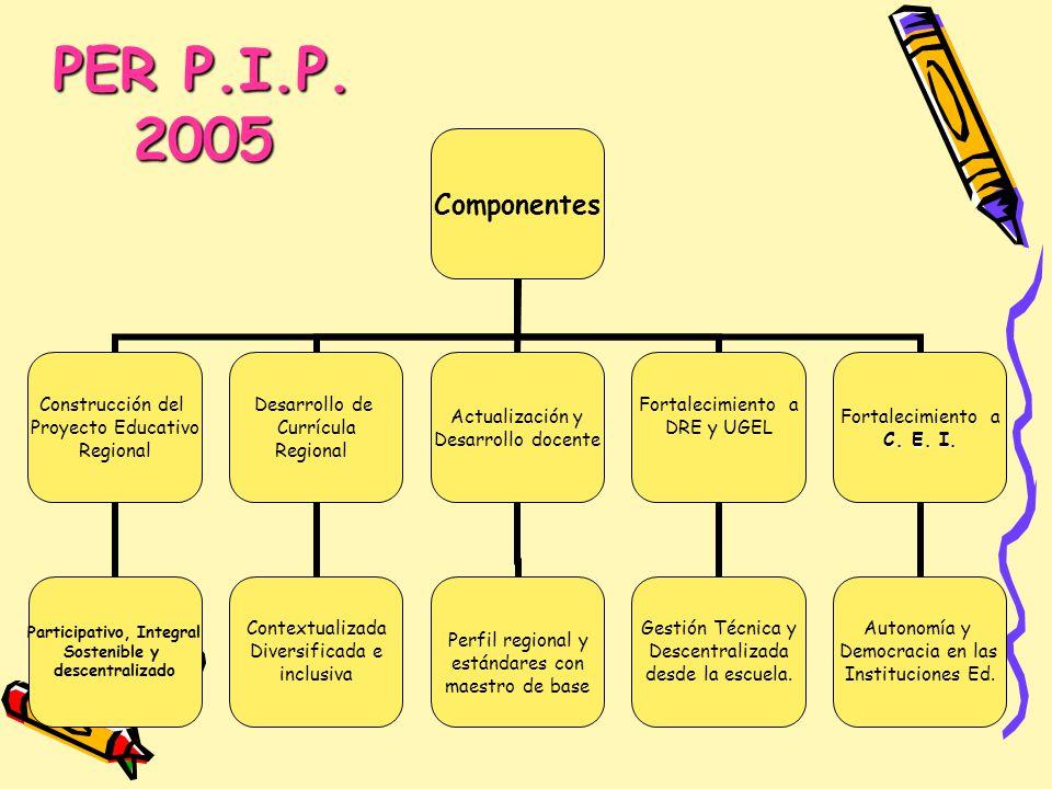 PER P.I.P. 2005