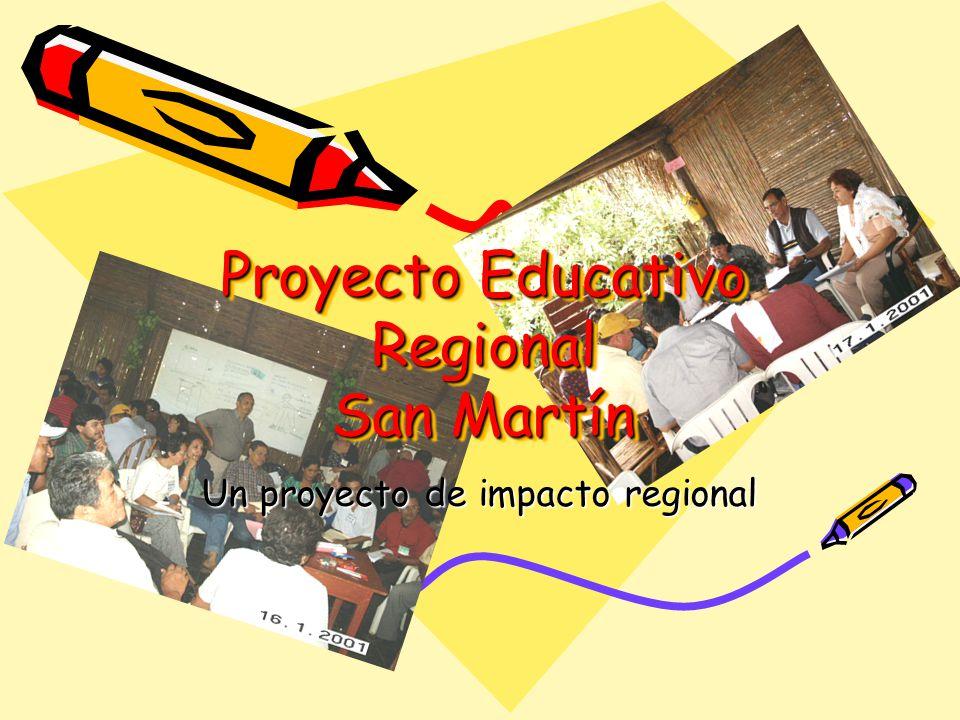 Proyecto Educativo Regional San Martín