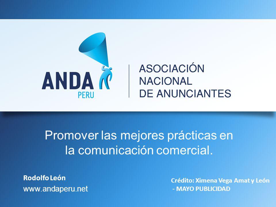 Promover las mejores prácticas en la comunicación comercial.