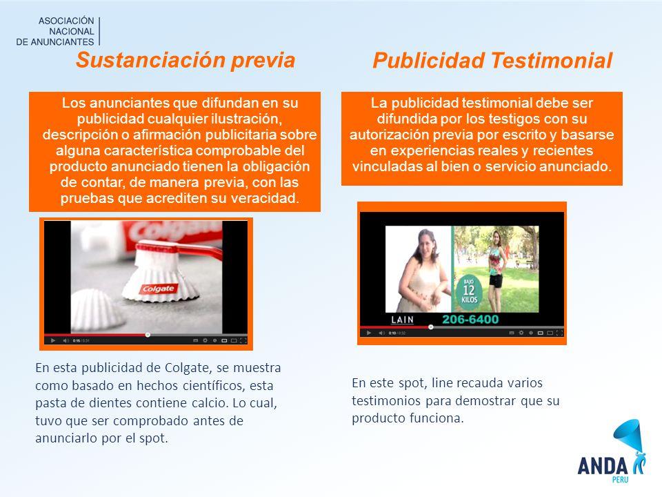 Publicidad Testimonial