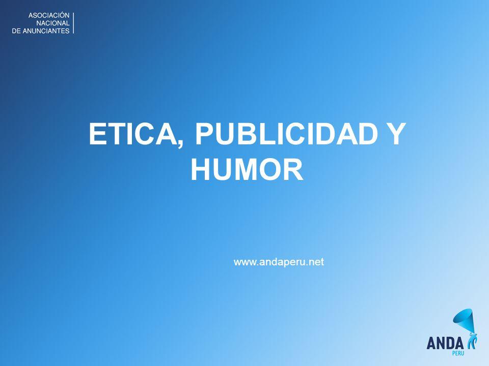 ETICA, PUBLICIDAD Y HUMOR