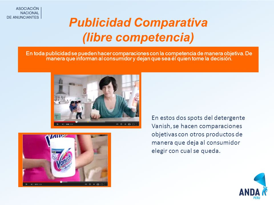 Publicidad Comparativa (libre competencia)